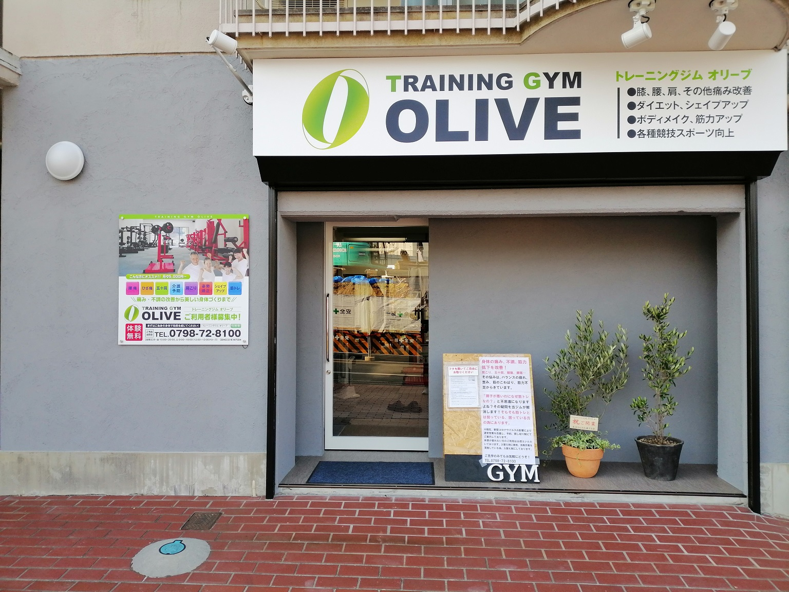 TRAINING GYM OLIVE